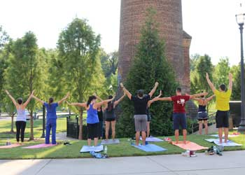 VCOM-Carolinas Takes a Break with Via Wellness Day