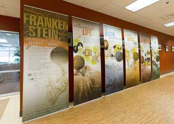 Frankenstein National Library of Medicine Traveling Exhibit at VCOM
