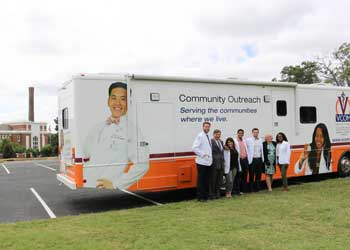 Mobile Medical Unit Helps VCOM Care for the Community