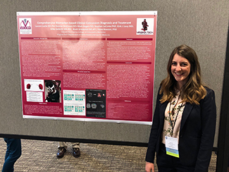 Lauren Leslie, DO, presented a poster at the AOASM Clinical Conference
