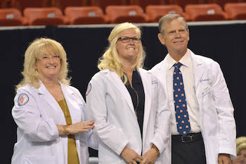 Auburn Campus White Coat Ceremony