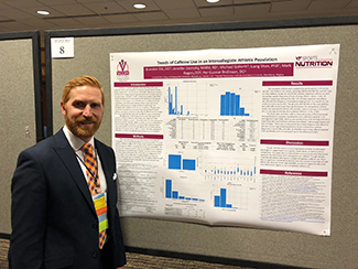 Brandon Eck, DO, won best research poster presentation