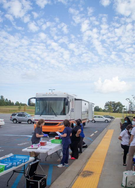 Carolinas Vaccine Clinic Mobile Medical Unit