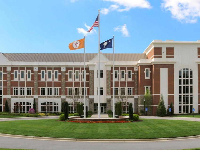 Main building of the Spartanburg campus